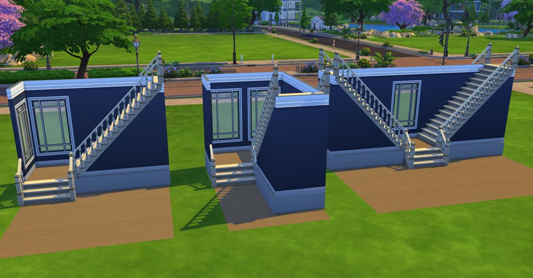De sims l vormige trap bouwen simsnippets