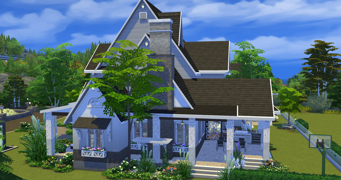 Nieuwe Sims 4 kavel: Noble House (NoCC) - SIMSnippets