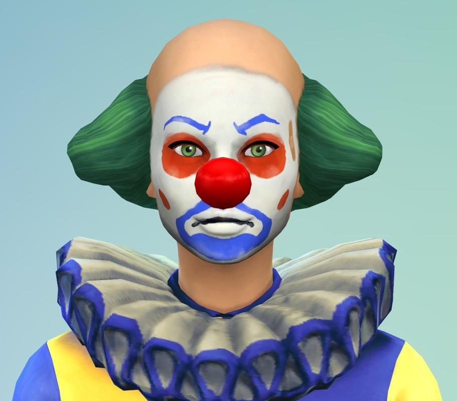 De Sims 4 Tragische Clown Simsnippets